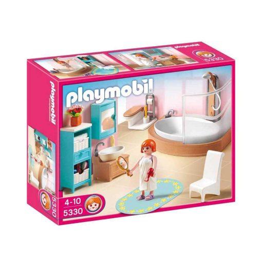 Playmobil dukkehus badeværelse 5330 æske