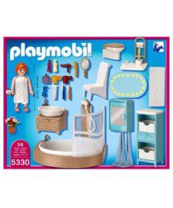 Playmobil dukkehus badeværelse 5330 indhold