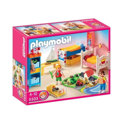 Playmobil dukkehus børneværelse 5333 æske
