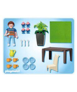 Playmobil dukkehus Spisestue 5335 indhold