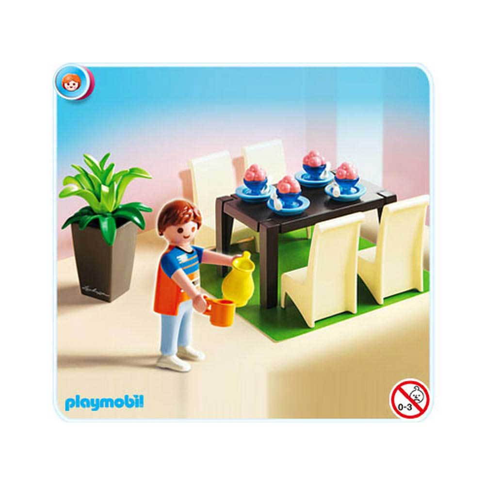 K b playmobil dollhouse spisestue nr 5335 for Playmobil esszimmer 5335