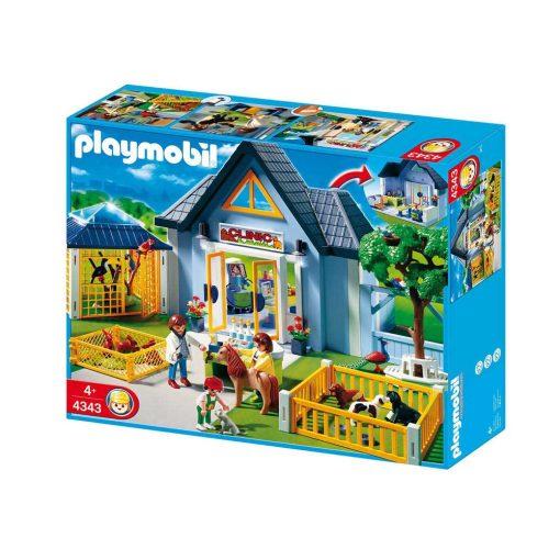 Playmobil dyreklinik 4343 kasse