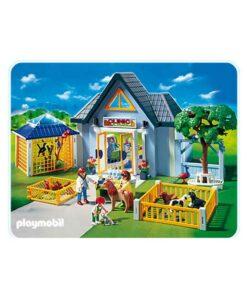Playmobil dyreklinik 4343 front