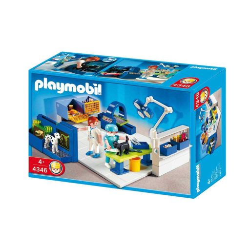 Playmobil dyrlæge operationsstue 4346 kasse