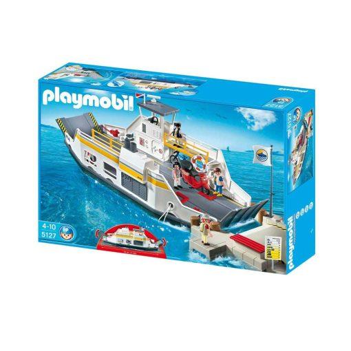 Playmobil færge 5127 æske