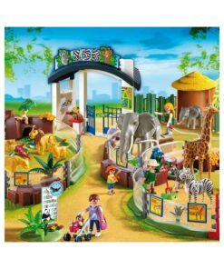 Stor Playmobil Zoologisk Have 4850 illustration
