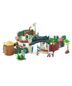 Stor Playmobil Zoologisk Have 4850 opstilling