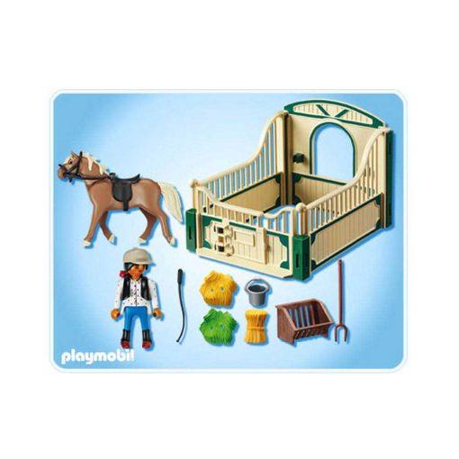 Playmobil Country rideksole hest, stald og rytter 6209
