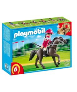 Playmobil Country sort arabisk væddeløbshest 5112