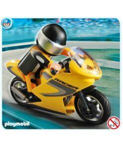 Playmobil roadracer motorcykel 5116