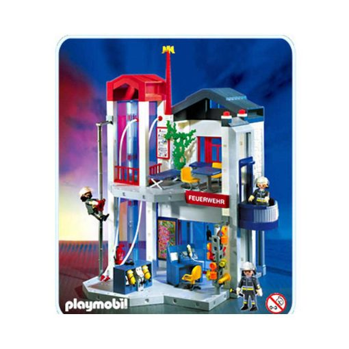 Playmobil Brandstation med tårn 3885