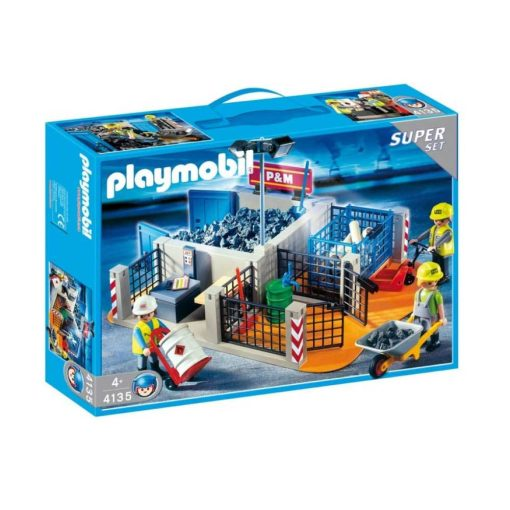 Playmobil byggeplads 4135 superset