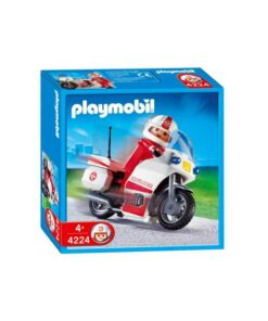 Playmobil ambulancemotorcykel 4224