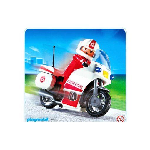Playmobil 4224 ambulance motorcykel