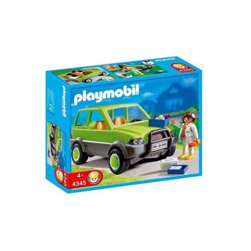 Playmobil dyrlæge 4345 æske