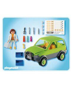 Playmobil dyrlæge 4345 bagside