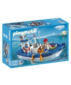 Playmobil fiskekutter 5131