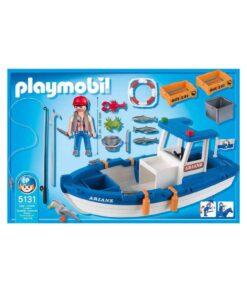 Playmobil fiskekutter 5131 indhold