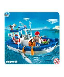 Playmobil fiskekutter 5131 bagside