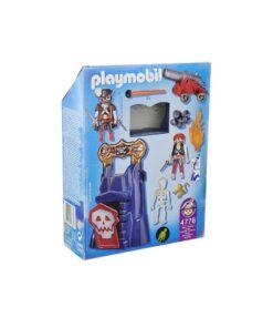 Playmobil pirater 4776 krypt med håndtag bagside