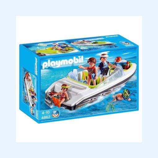 Playmobil speedbåd 4862 æske