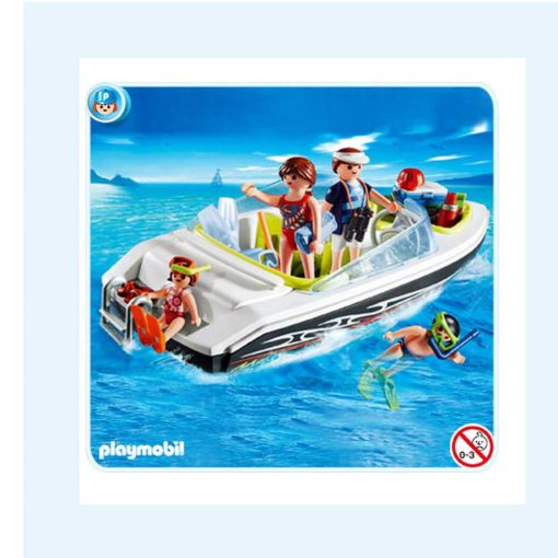 Playmobil speedbåd 4862 cover