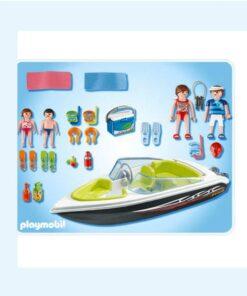 Playmobil speedbåd 4862 bagside