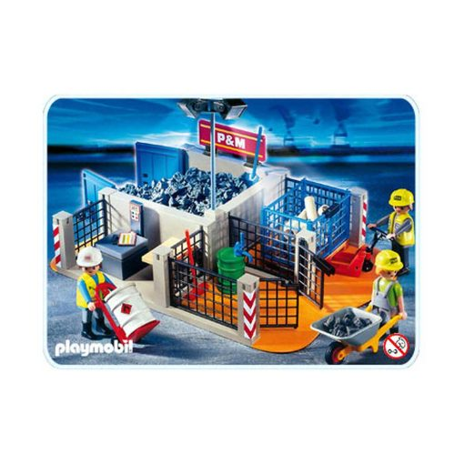 Playmobil 4135 byggeplads - superset