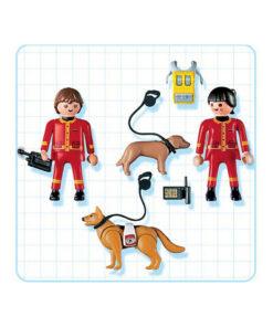 Playmobil 4227 redningspatrulje hundepatrulje