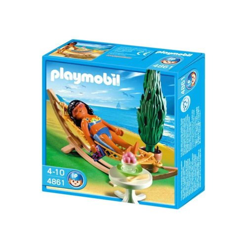 Playmobil Feriegæst i hængekøje 4861