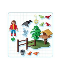 Playmobil fuglehus med fugle 4203
