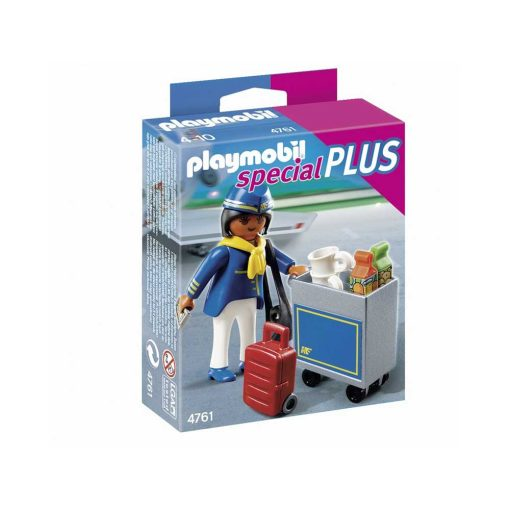 Playmobil stewardesse 4761