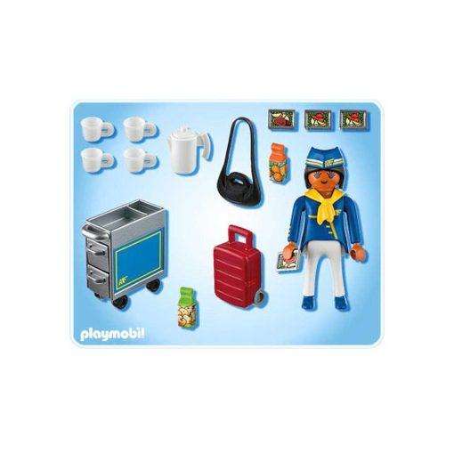 Playmobil stewardesse 4761 indhold
