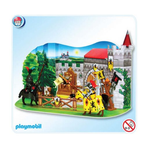 Playmobil julekalender 4163 ridderturnering kulisse