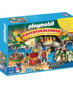 Playmobil julekalender 4164 piraternes skattejagt