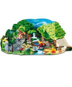 Playmobil Julekalender Dinosaur Eventyr 4162 kulisse