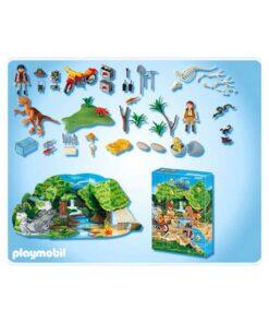 Playmobil Julekalender Dinosaur Eventyr 4162 indhold