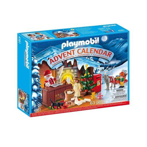 Playmobil julekalender Julemandens postkontor 4161