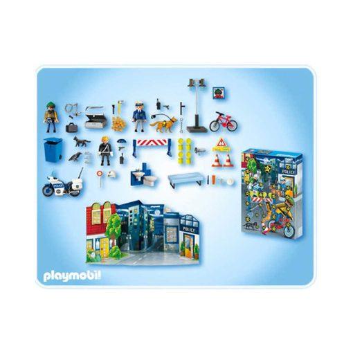 Playmobil julekalender politiet på forbryderjagt 4157 indhold