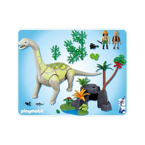 Playmobil Brachiosaurus Dinosaur 4172 indhold