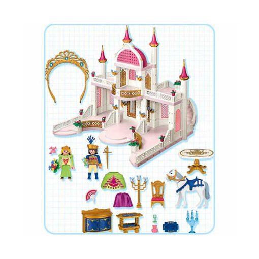 Playmobil prinsesseslot med diadem 4250 indhold