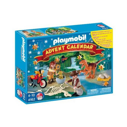 Playmobil Julekalender Dinosaur Eventyr 4162 æske