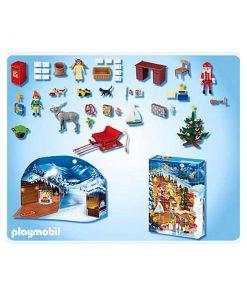 Playmobil Julekalender julemandens postkontor indhold