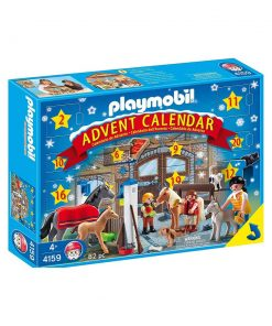 Playmobil Julekalender Rideskole 4159