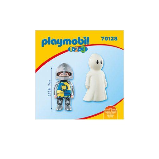Selvlysende Playmobil spøgelse og ridder 70128 firsude