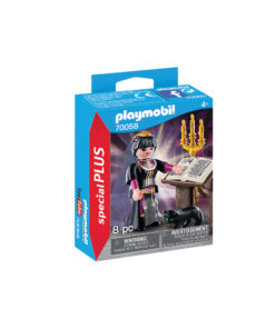 Sort Playmobil heks 70058 æske