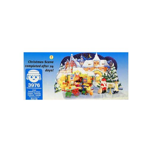Vintage Playmobil julekalender julemarked 3976