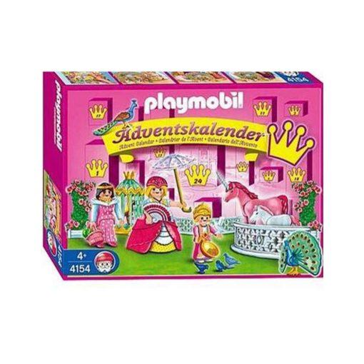 Playmobil julekalender enhjørningens paradis 4154 æske