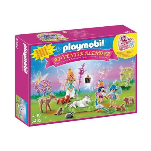 Playmobil julekalender 5492 enhjørning i feland boks
