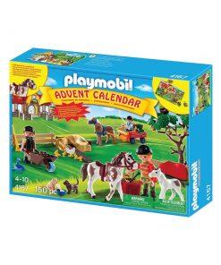 Playmobil julekalender Ponygården 4167 æske